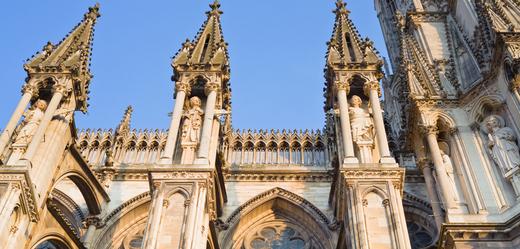Katedrála v Remeši.