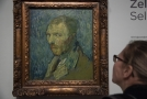 Autoportrét van Gogha.