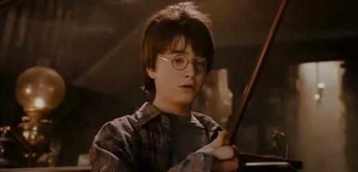Kouzelnický učeň Harry Potter.