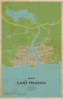 Odhalena mapa přepracované první Mafie