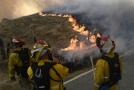 Požáry v jižní Kalifornii.