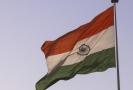 Vlajka Indie.