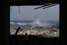 Libanon: Bejrút po ničivé explozi.
