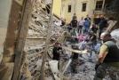 Výbuch v libanonském hlavním městě.