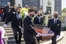 Pohřeb Miloše Nesvadby.