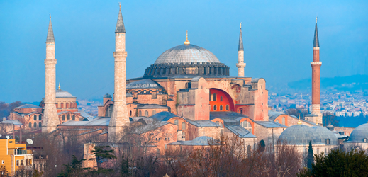 V Sýrii plánují postavit zmenšenou repliku istambulského chrámu Boží Moudrosti