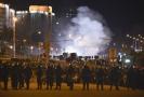 Demonstrace v Minsku 9. srpna 2020.
