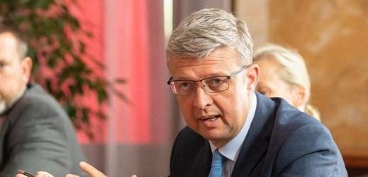 Ministr průmyslu a obchodu Karel Havlíček.