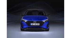 Čelní pohled na nový Hyundai i20.