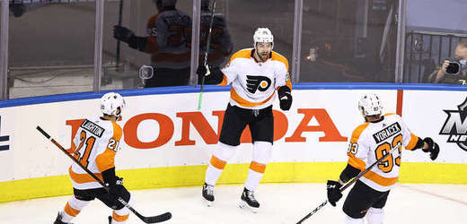 Hokejisté Philadelphie.