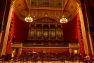 Interiér koncertní síně Rudolfina.