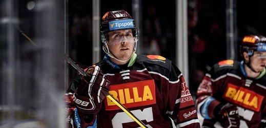 Hokejový útočník Marek Kvapil.