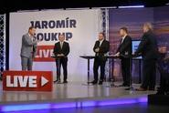 JS Live: Diskuse s Josefem Středulou, Michalem Šmardou, Tomiem Okamurou a Milanem Ferancem