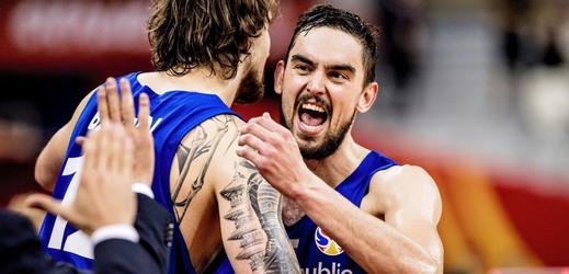 Český basketbalista v NBA Tomáš Satoranský.