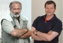 Rudolf Hrušínský ml. a Jan Hrušínský.