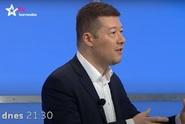 Hostem středeční Arény Jaromíra Soukupa bude Tomio Okamura