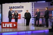 JS Live: Čtvrteční diskuse s Martinem Netolickým, Lubošem Xaverem Veselým, Ondřejem Závodským a Milanem Hniličkou