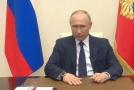 """Putin kritizoval """"bezprecedentní vnější tlak"""" na Bělorusko."""