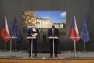 Ministr zdravotnictví Roman Prymula (vpravo) a Ministr školství Robert Plaga (vlevo).