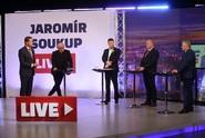 Hosty Jaromír Soukup Live budou Tomio Okamura, Michael Kocáb, Pavel Švagr a Ladislav Okleštěk