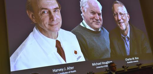 Nositelé Nobelovy ceny za lékařství 2020.