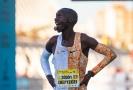 Ugandský běžec a mistr světa Joshua Cheptegei.