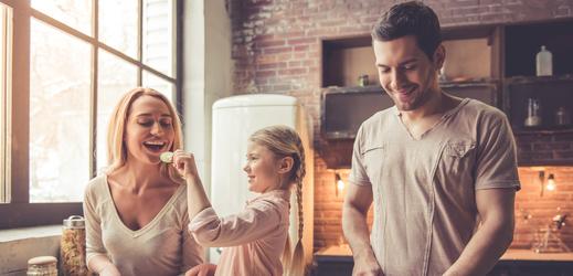 Dobré jídlo a rodinná harmonie, ideální cesta ke zdraví.