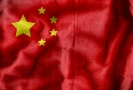 Čínská vlajka.