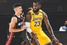 Série mezi Miami a LA Lakers místy připomínala souboj Davida s Goliášem.