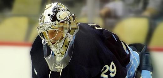 Hokejový brankář Marc-Andre Fleury