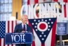 Kandidát na hlavu státu Joe Biden.