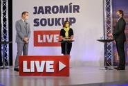 Hosty Jaromír Soukup LIVE budou Helena Horská a Lukáš Černohorský