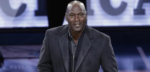 Legendární basketbalista Michael Jordan.