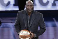 Legendární basketbalista Michael Jordan.