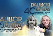 Megakoncert Dalibor Janda 60 na TV Barrandov při příležitosti výročí 40 let na scéně