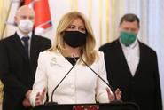 Plošné testování obyvatel není připraveno, musí se změnit, říká slovenská prezidentka