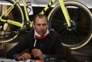 Mistr České republiky v cyklokrosu Emil Hekele.