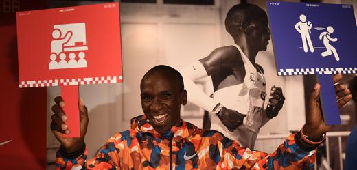 Keňský rekordman Eliud Kipchoge.