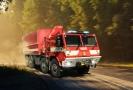 Tatra má univerzální využití, třeba u hasičů.
