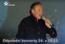 Karel Gott zpříjemní vaše Vánoce v rámci Odpoledních koncertů.