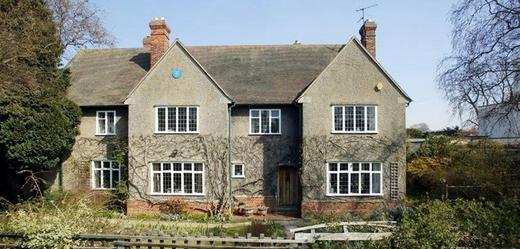 Dům, ve kterém žil a tvořil John Ronald Reuel Tolkien.