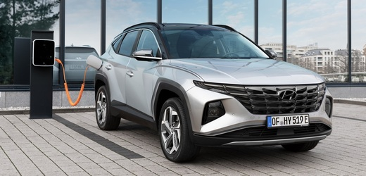 Nový hybridní Hyundai Tucson.