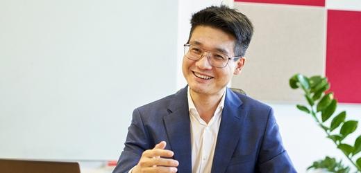 Willi Song, CEO společnosti Huawei pro ČR, SR a Rakousko.