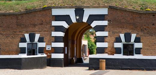 Koncentrační tábor v Terezíně.