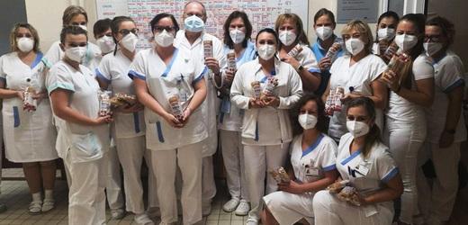 Společnost Penam podpořila zdravotníky.