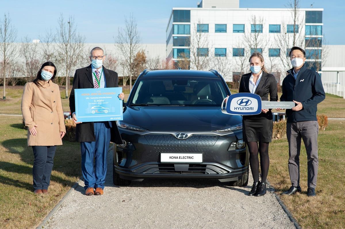 Automobilka Hyundai vyzvala vysokoškoláky.