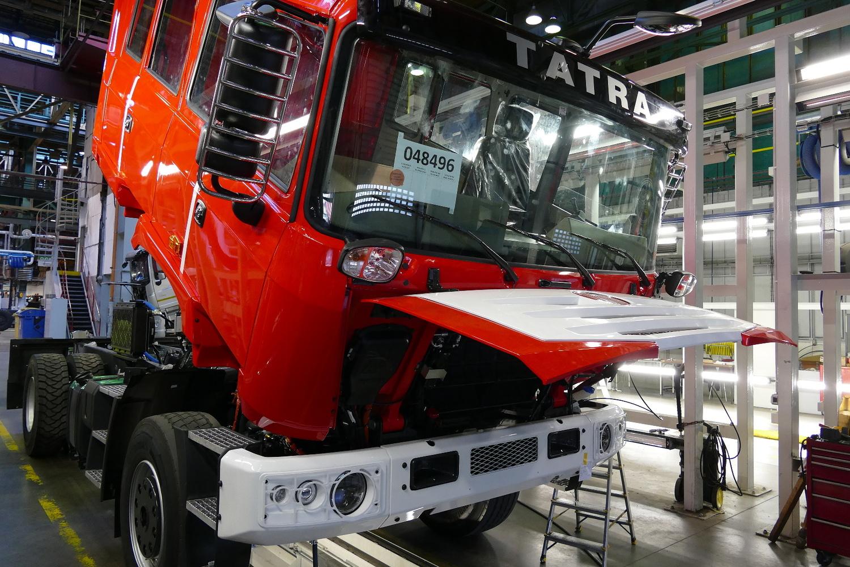 Tatra pomáhala při zásobování.