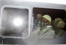 Indonéský radikální duchovní Abu Bakar Bashir.