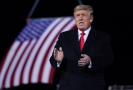 Dosluhující prezident Spojených států Donald Trump.