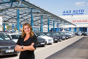Karolína Topolová, generální ředitelka a předsedkyně představenstva skupiny AURES Holdings.